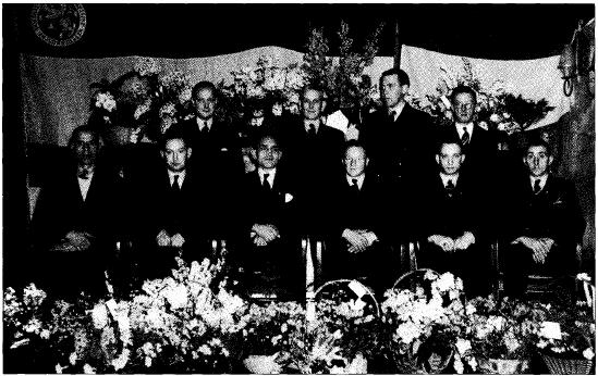 Bestuur HH in 1949
