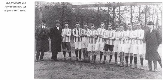 Elftal uit 1910-1915